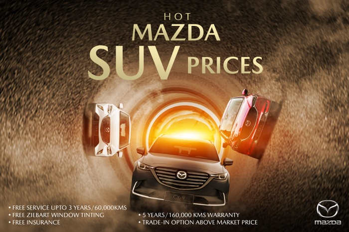 YEAR-END OFFERS : Hot Mazda SUV Prices