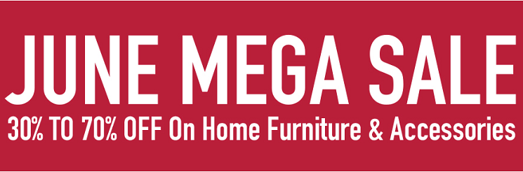 United Furniture - JUNE MEGA SALE. 30% to 70% off on Home Furniture & Accessories