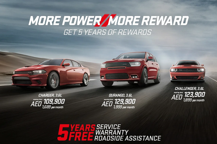 MORE POWER MORE REWARDS. GET 5 YEARS OF REWARDS.