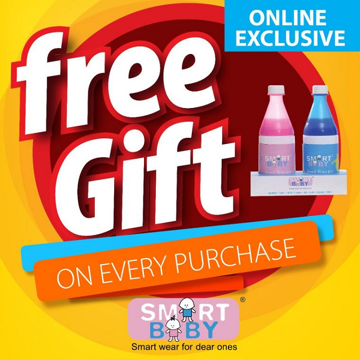 Smart Baby - Free gift on every purchase. Online exclusive.