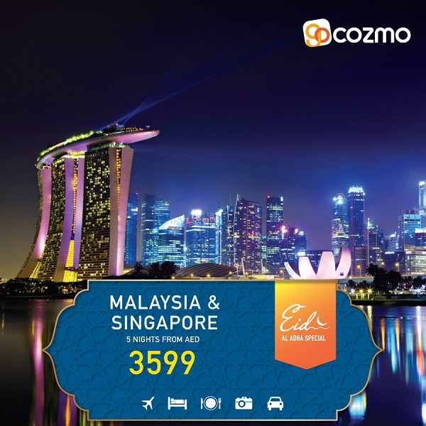 Malaysia & Singapore -  5 Nights from AED 3,599