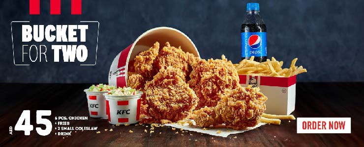Bucket For Two offer @ KFC.