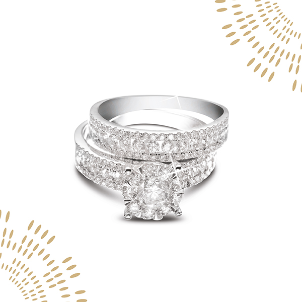 Liali Jewellery - Liali Love Bands now available at a reduced price of AED 5900.