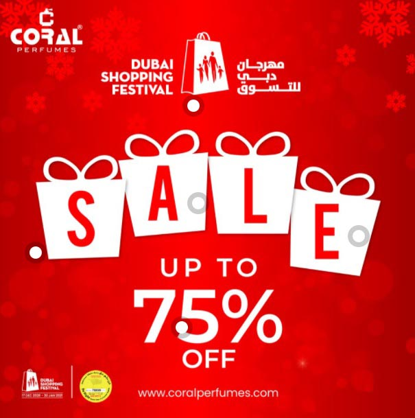 Enjoy up to 75% off and a lot more great deals in-stores and online @ Coral Perfumes.