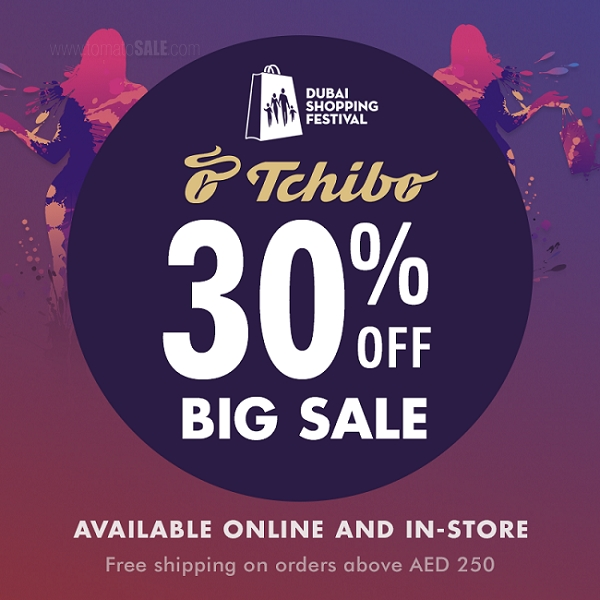 Tchibo DSF Sale. Enjoy Flat 30% OFF on your favorite Tchibo Fashion, Bedding and Footwear. Available online and in-store.