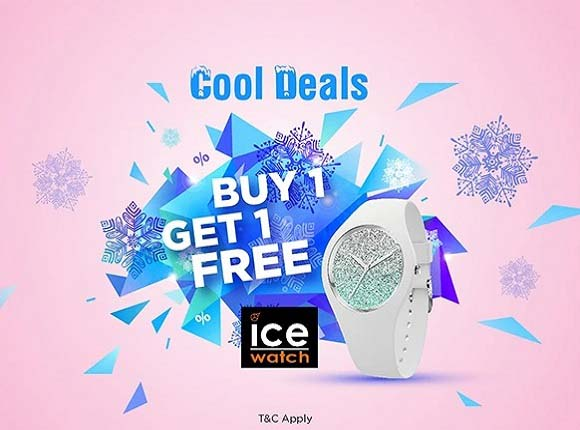 Cool Deals. Buy 1, Get 1 Free Ice-Watch @ The Watch House. T&C's Apply