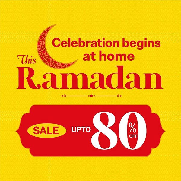 Ramadan sale @ Danube Home.  Grab products you love on Discounts of Up to 80% Off. Visit the nearest Danube Home Showroom or shop online www.danubehome.com