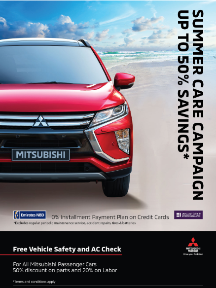 Summer Care Campaign - Upto 50% savings. Free vehicle safety and AC check. Hurry up, limited time offer only.