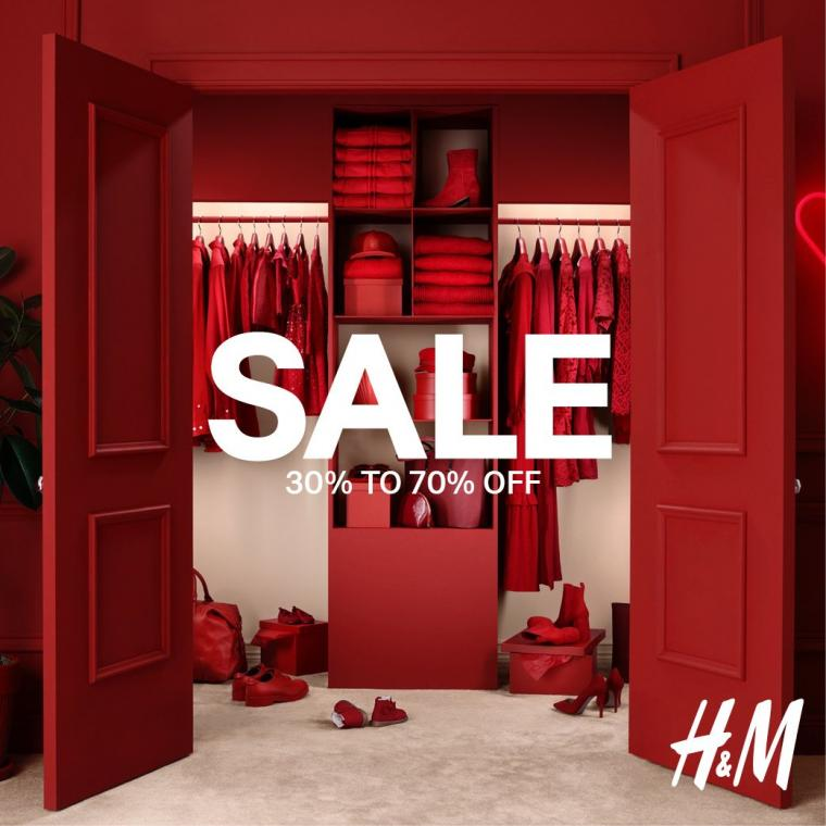 H&M Dubai Summer Surprises 30% to 70% off on all your favorite items..Hurry up, shop now!