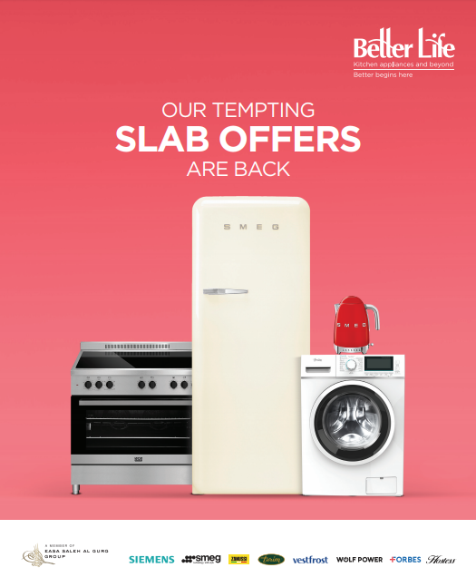 Better Life - Our Tempting Slab Offers are Back.