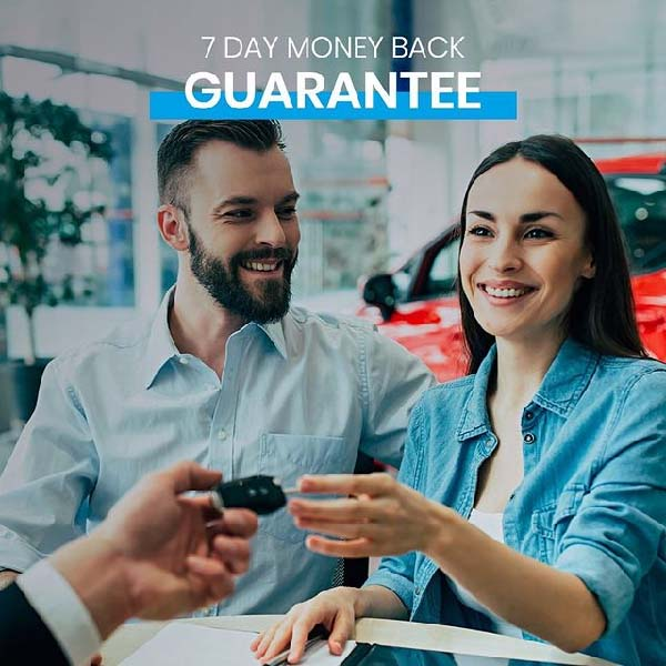 Select your car with confidence with 7-day money back guarantee! Visit any Al-Futtaim Automall showrooms across the UAE.