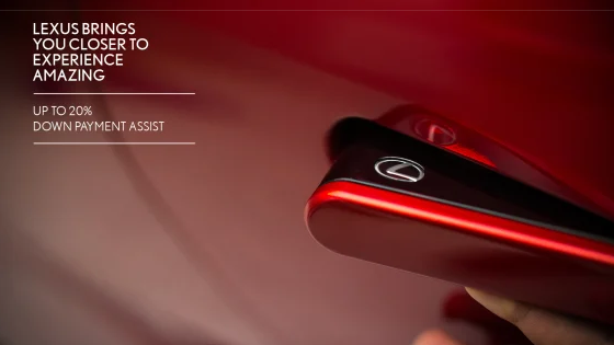 Drive away in a luxurious 2019 Lexus this summer with our latest offer, step into a world of luxury combined with the latest technologies. This summer, we are offering you up to 20% Down payment assist to purchase your new Lexus. *Terms & Conditions apply