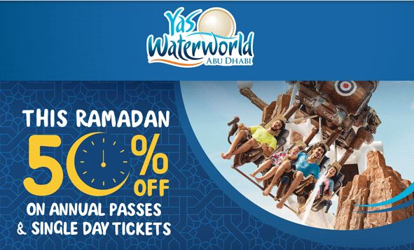 50% Discount this Ramadan. Annual Pass Ramadan Price for AED 495. Single Day Ticket Ramadan Price for AED 130