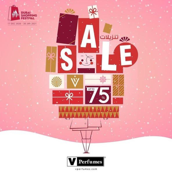 DSF SALE. Up to 75% Off @ V Perfumes.
