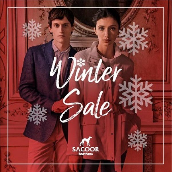 Winter Sale @ Sacoor Brothers. Super DSF sale with the best savings of the year. Arrive early for beautiful selections on formal, casual and sportswear for Men and Women.