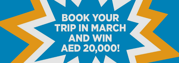 dnata Travel - Book your trip in March and win AED 20,000