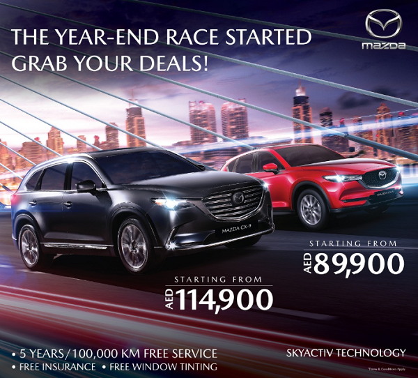 Mazda - The Year-End Race Started Grab Your Deals.