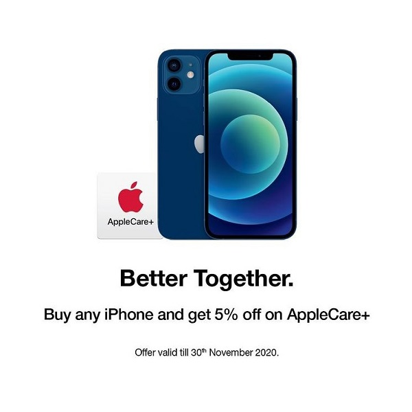 Enjoy peace of mind with Apple's protection plan @ Jumbo Electronics. Buy any iPhone and get 5% OFF on your purchase of AppleCare+