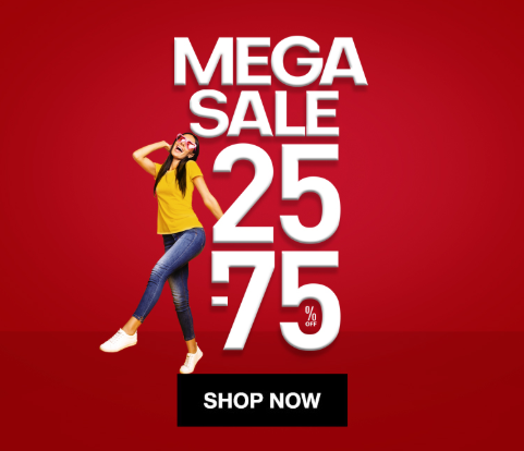 Danube Home Mega Sale. Get up to 75% off on furniture, sanitary ware, tiles, Garden and all your favorite products.