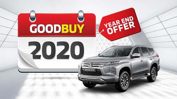 GoodBuy 2020 -  Year End Offer! Get Free Service & Insurance and Cashback up to AED 10,000 @ Mitsubishi
