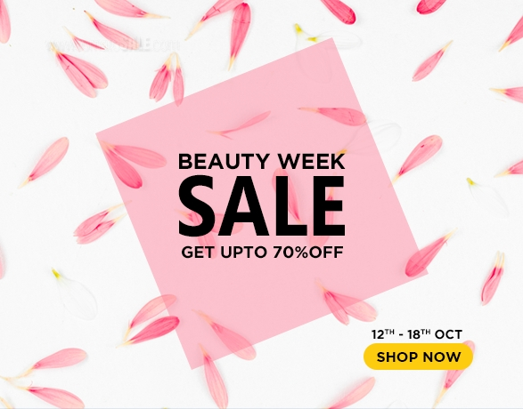 Clik2buy.com - Beauty Week Sale. Get up to 70% Off. 12th - 18th October.