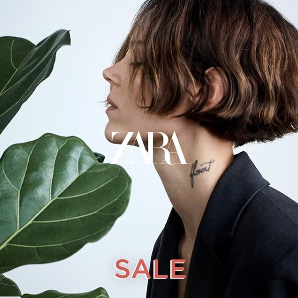 Zara SALE now in-stores and online.