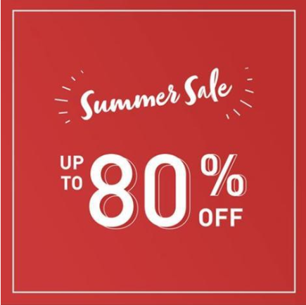 SUMMER SALE is now on! Shop up to 80% OFF online and 25-60% OFF in-store on babywear, nursery collection & travel essentials.
