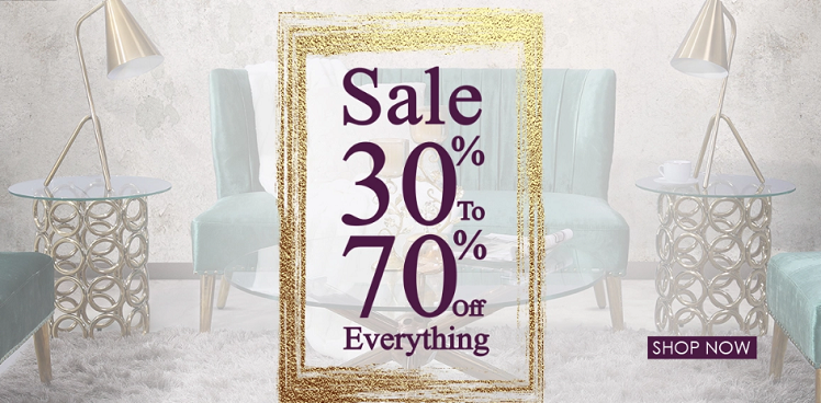 Sale 30% to 70% off everything at Pan Emirates.