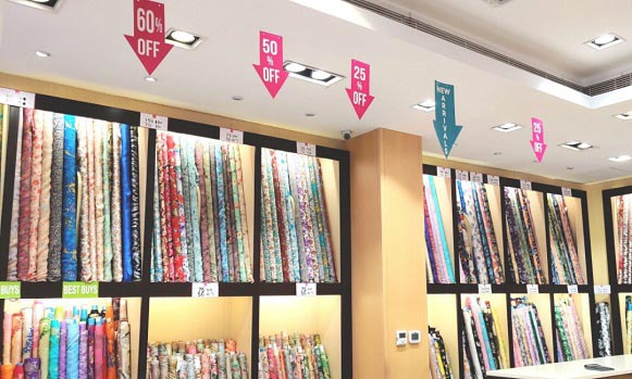Enjoy 25%-70% off on Exquisite Fabrics, Fancy Sarees, Salwar suits, Men's collection, and accessories at Regalia Sharjah from 17th December 2020 onwards.