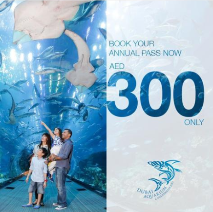Book your annual pass now for AED 300 only! Hurry up, limited time offer only.