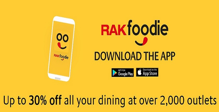Introducing RAKfoodie from RAKBANK. Just use your RAKBANK Card and enjoy delicious discounts up to 30% at OVER 2,000 restaurants. Plus enjoy Buy 1 Get 1 free and Best Foodie Fridays offers on your favorite cuisines and restaurants. Conditions apply.