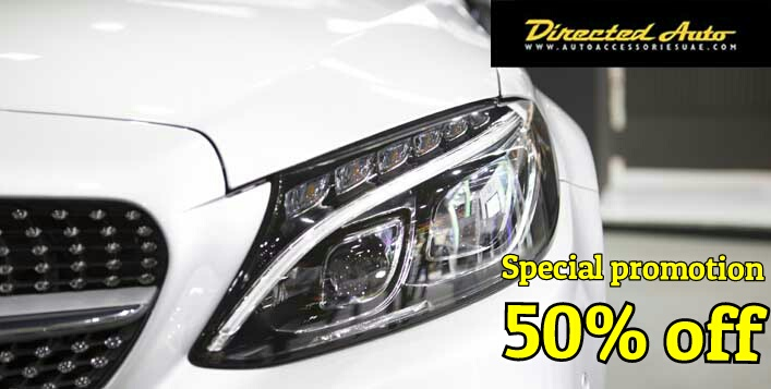 Special promotion for Headlight restoration at Directed Auto.