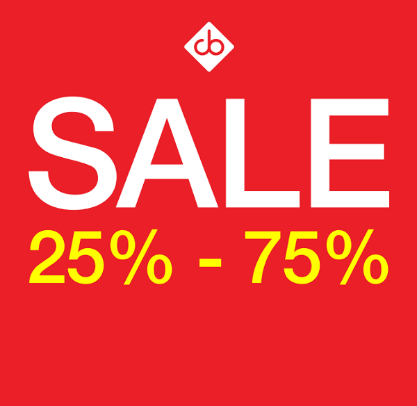 SALE 25% to 75%. Promotion valid from: 22nd Jun – 4th Aug. Store location: Carolina Boix, Al Ghurair Centre.