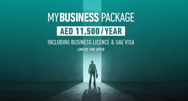RAKEZ MYBUSINESS PACKAGE FOR AED 11,500/YEAR INCLUDING BUSINESS LICENCE & UAE VISA