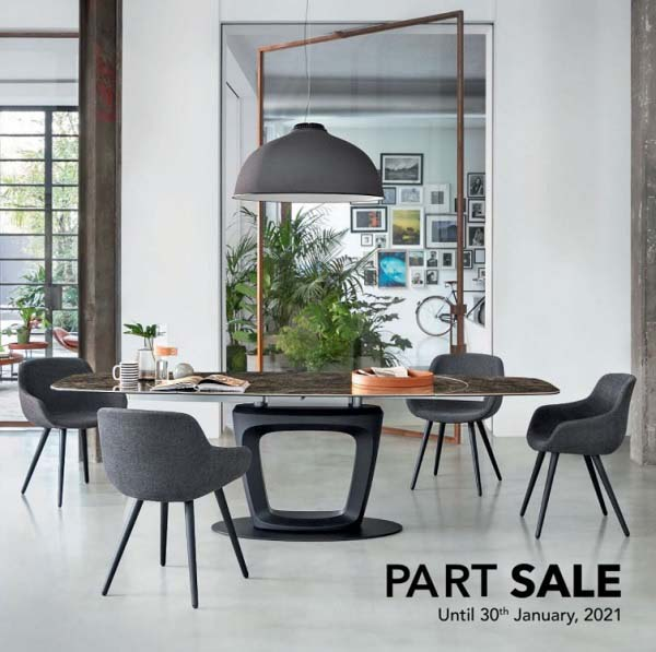 This Dubai Shopping Festival, Explore Part Sale 25% - 75% Off on our Italian furniture collections until 30th January 21 @ WESTERN FURNITURE