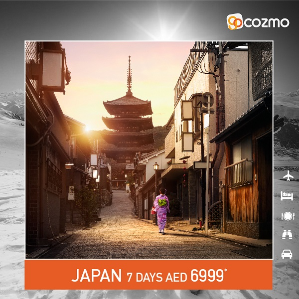 Cozmo Travel - Planning for a Vacation this Winter? Visit Japan with All-inclusive Package from AED 6999*.