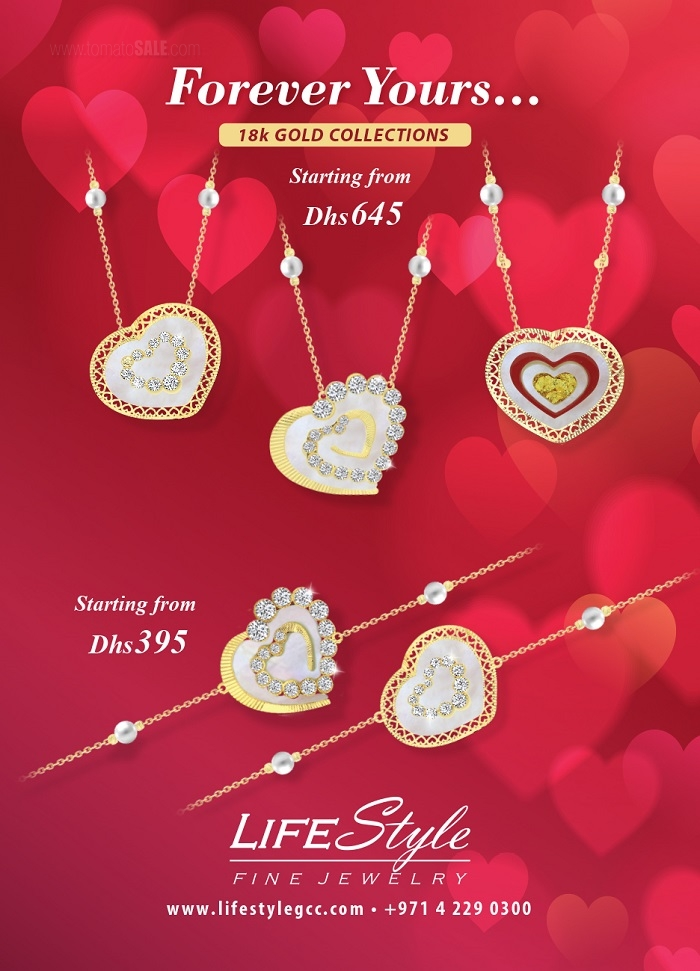 Lifestyle Fine Jewelry - 18k Gold collections.
