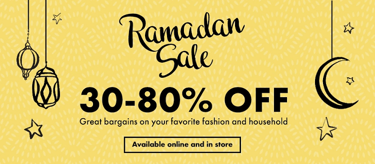 Brands For Less - Ramadan Sale. 30-80% Off. Great bargains on your favorite fashion and household.
