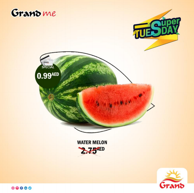 Super Tuesday Offers at all Leading Grand Hypermarkets