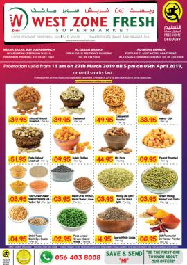 West Zone Fresh Supermarket offer