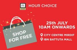 Hour Choice offer
