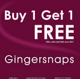 Gingersnaps offer