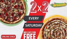 BROCCOLI Pizza & Pasta offer