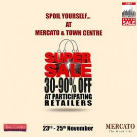 Mercato Shopping Mall offer