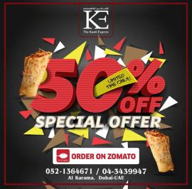 The Kaati Express Restaurant offer