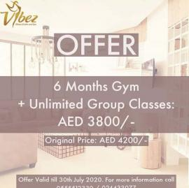 Vibez Fitness Center and Spa offer
