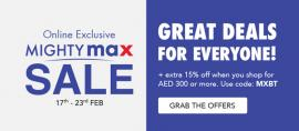 Max offer