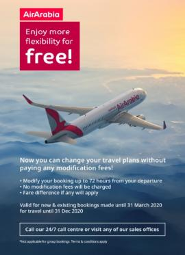 Air Arabia offer
