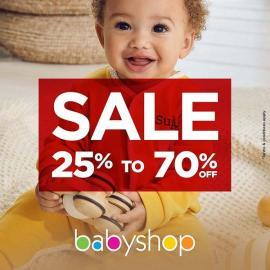 Babyshop offer