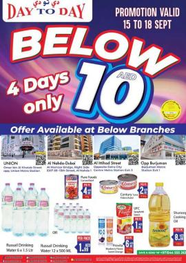 Day To Day offer
